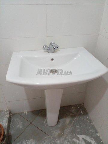 02 lavabos y compris 02 robinets et mitijeur - 1