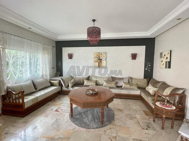 Salon marocain complet - 7 mètres - 1