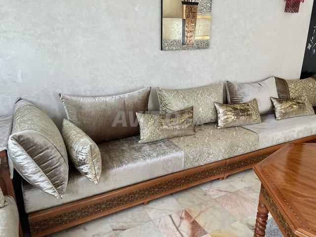 Salon marocain complet - 7 mètres - 2