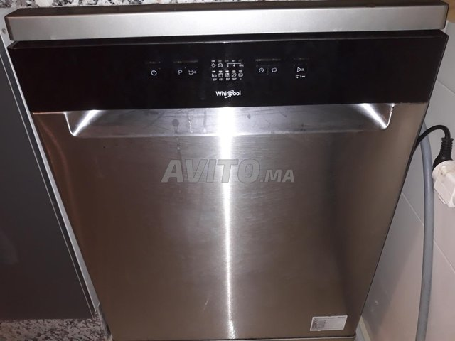 lave vaisselle WHIRLPOOL  gris - 1