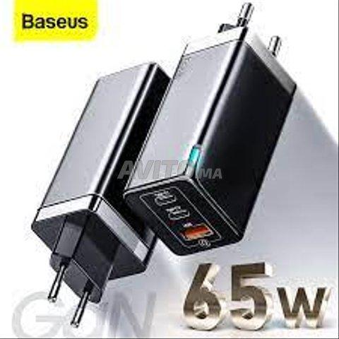 Baseus  chargeur rapide GaN 65W 4.0 3.0 Type C - 1