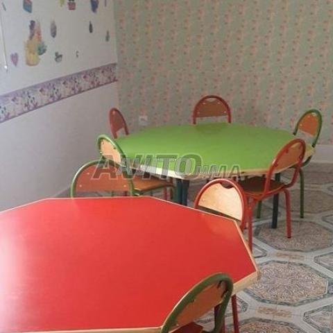 table e chaise scolaire privée et formation - 2