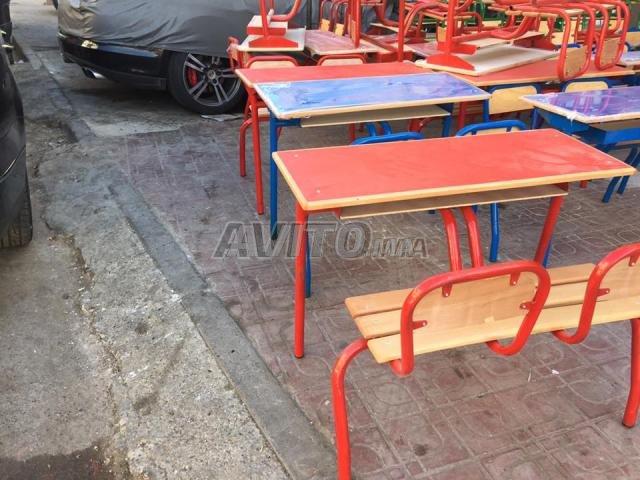 table e chaise scolaire privée et formation - 4