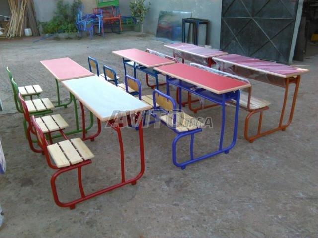 table e chaise scolaire privée et formation - 5