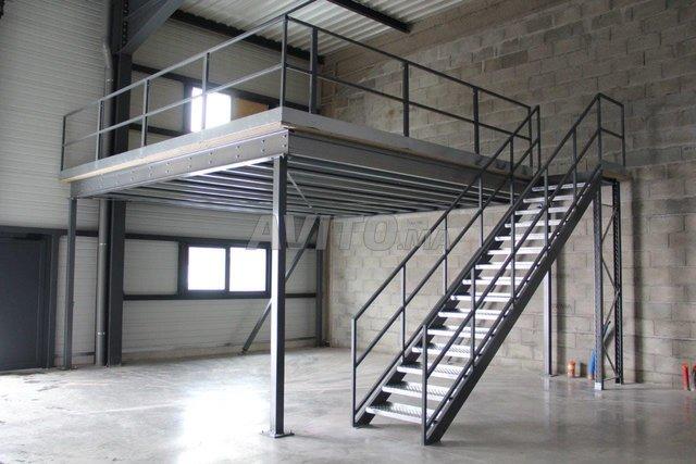 mezzanine métallique - 2