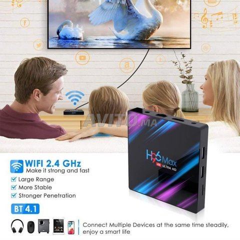 H96 MAX 4k 4G/32GB ANDROID 10 - 4