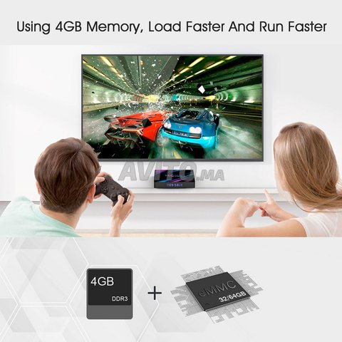 H96 MAX 4k 4G/32GB ANDROID 10 - 3
