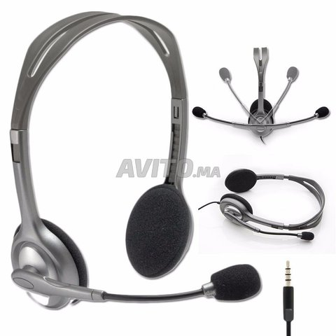 Casque Logitech Stereo Headset H111 - 5