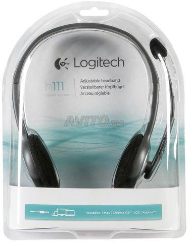 Casque Logitech Stereo Headset H111 - 1