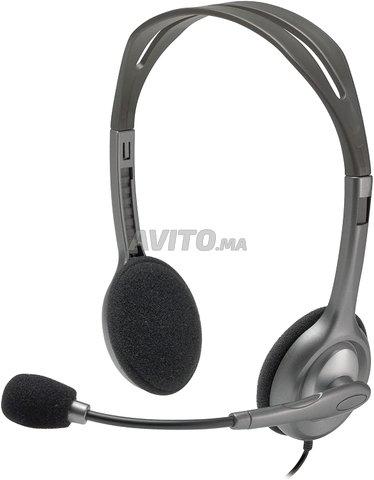 Casque Logitech Stereo Headset H111 - 4