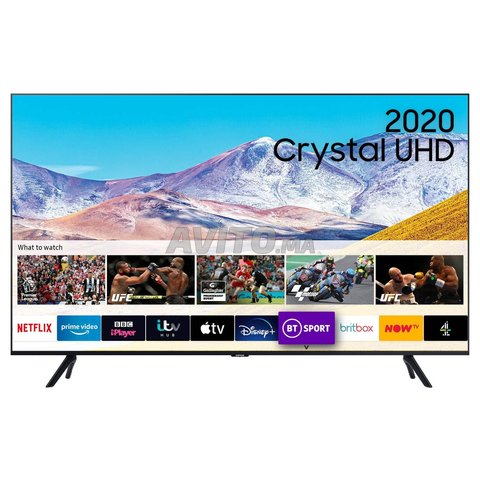 SAMSUNG TV 55TU7172 Cristal UHD 4K 2020 - 1
