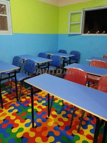Table Scolaire et chaise - 2