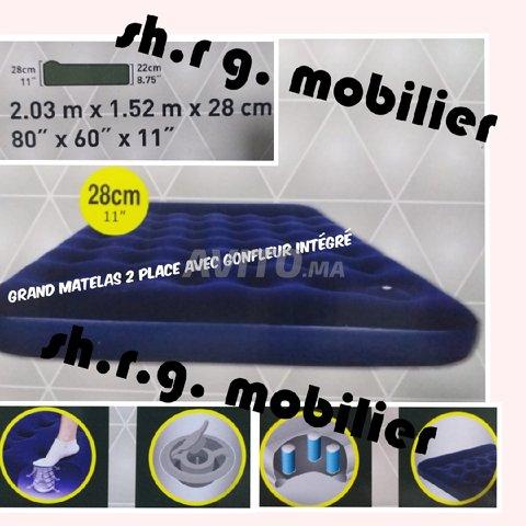 matelas gonflable 2 places importation - 1