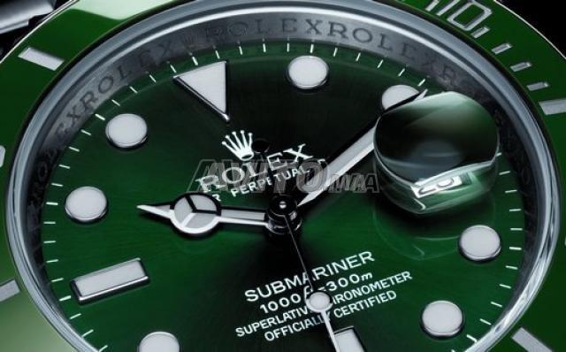 Montre ROLEX Submariner fond vert N 1103 - 4