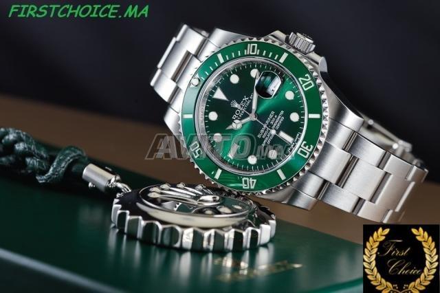 Montre ROLEX Submariner fond vert N 1103 - 2