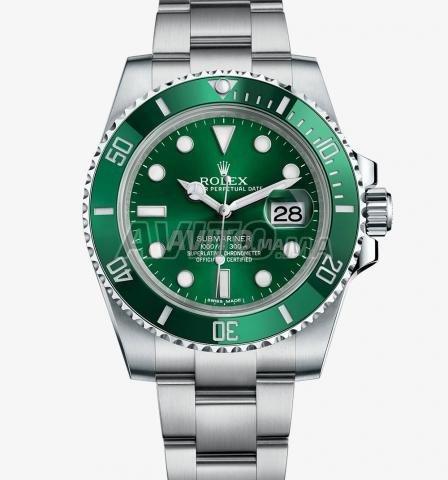 Montre ROLEX Submariner fond vert N 1103 - 1