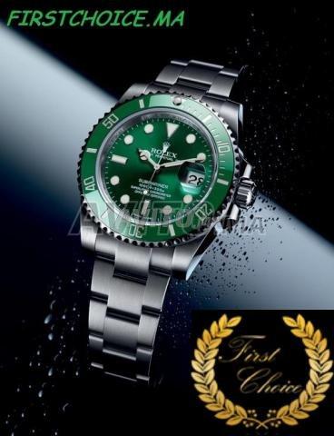 Montre ROLEX Submariner fond vert N 1103 - 3