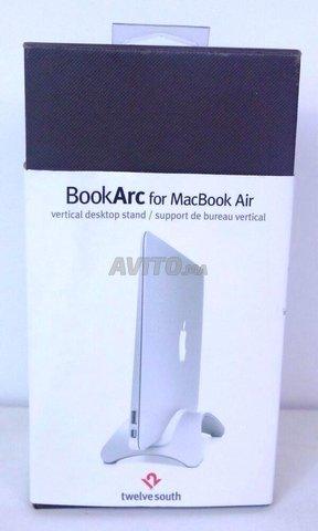 Support bureau vertical pour Macbook air - 1