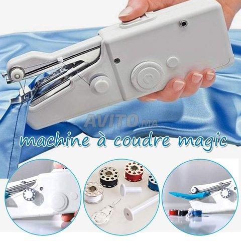 Mini machine a coudre portable - 4