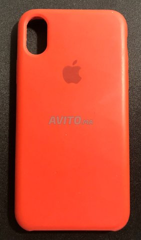 Coque Rouge Originale D'iPhone X Neuf - 1