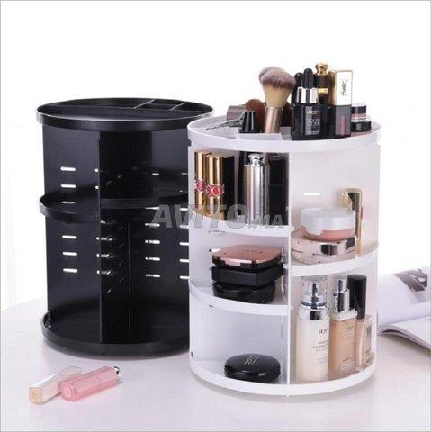 Organisateur rotatif de maquillage - 1
