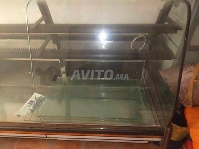 présentoir réfrigérateur 2m largeur avec tiroir - 2