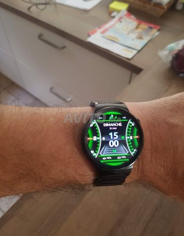 Montre Huawei Watch Compatible Android et IOS - 2