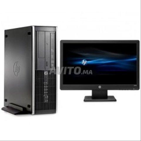 PC bureau HP core i5 avec Ecran 20 pouces - 1