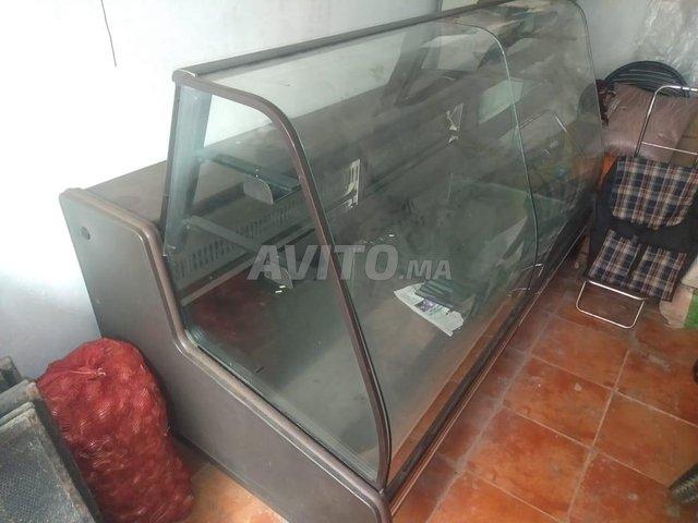 présentoir réfrigérateur 2m largeur avec tiroir - 1