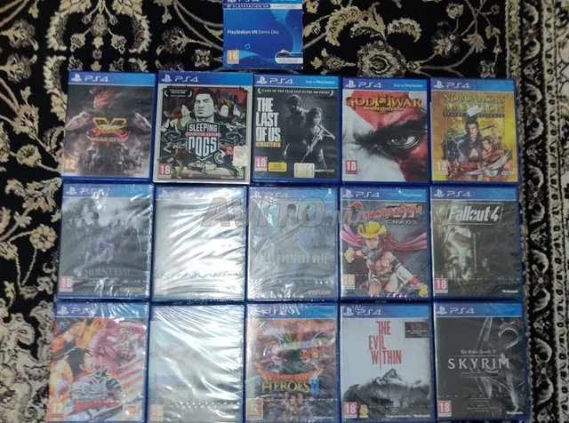 jeux Playstation ps4 - 2