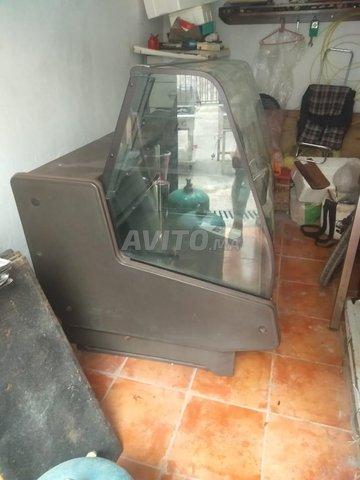 présentoir réfrigérateur 2m largeur avec tiroir - 4