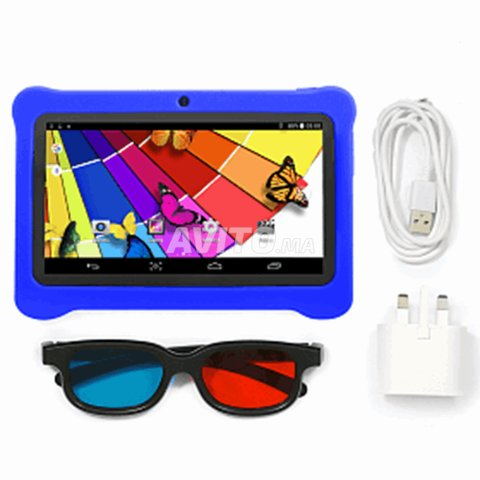Tablette enfants 7 pouces Android 8 8 Go 1 Go Bleu - 3