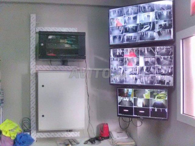 Camera securite surveillance immeuble residence - 1
