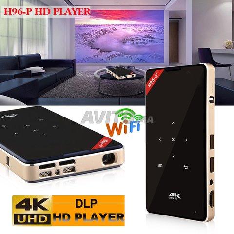 Projecteur H96 P DLP Mini 4K  2-16GB Android 9.0  - 1