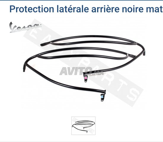 protection laterale vespa mate - 2