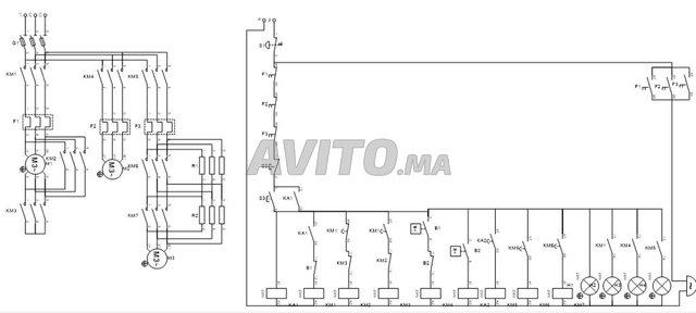 Câblage des armoires électriques  - 2