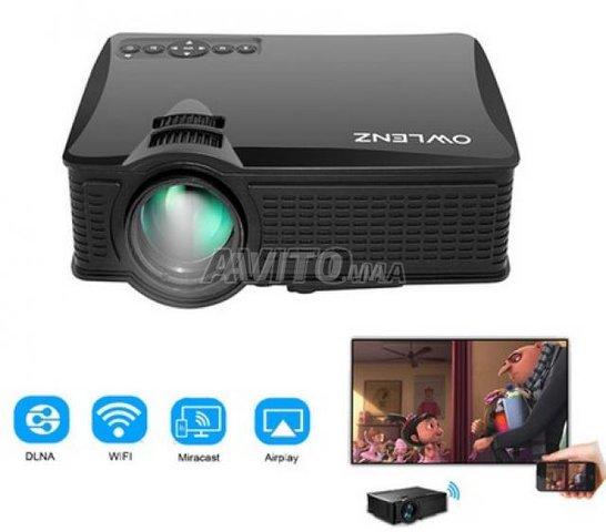 SD60 Screen Mirroring Video projecteur WIFI HD - 1