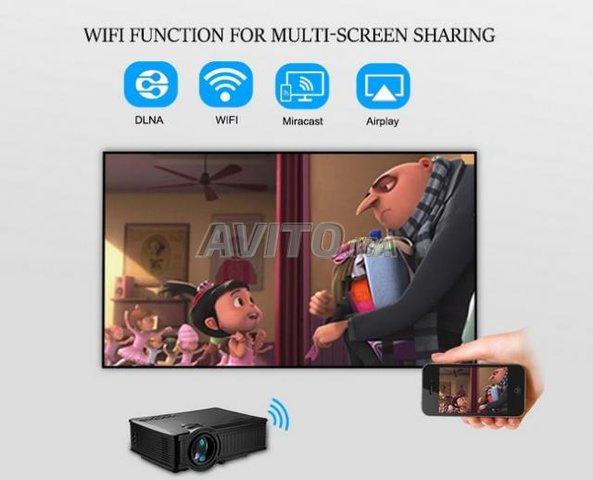 SD60 Screen Mirroring Video projecteur WIFI HD - 2