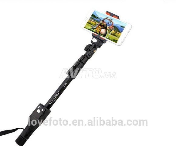 Selfie stick Bluetooth avec télécommande  - 5