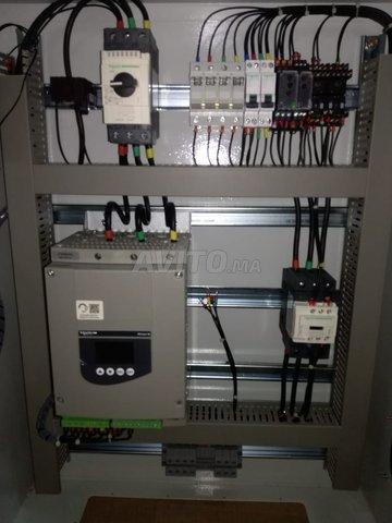 Câblage des armoires électriques  - 5