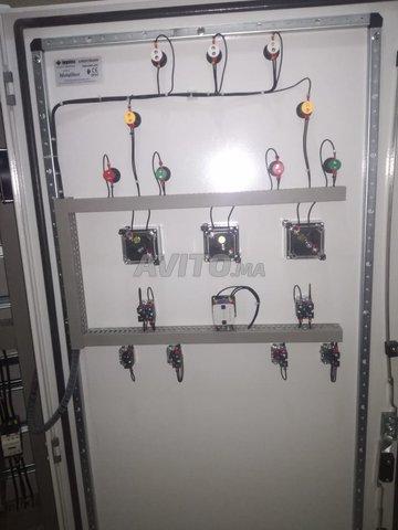 Câblage des armoires électriques  - 4