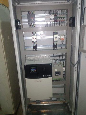 Câblage des armoires électriques  - 3