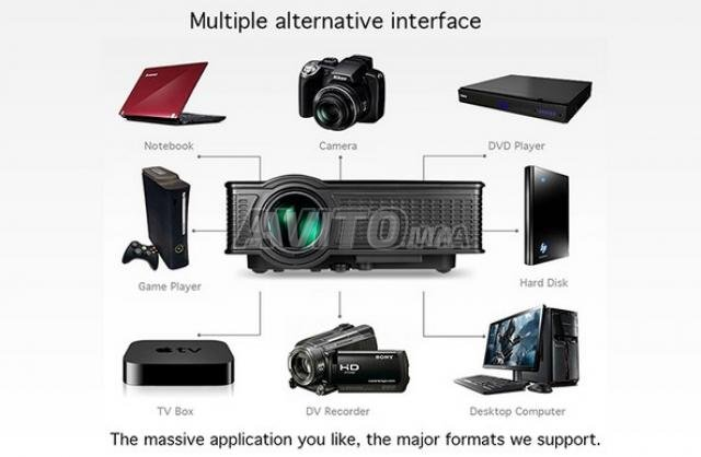 SD60 Screen Mirroring Video projecteur WIFI HD - 3
