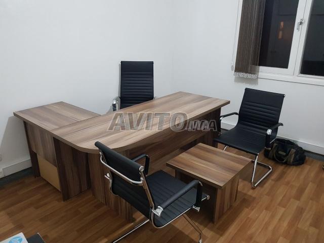 REF 01 Des bureau L et chaise new - 4
