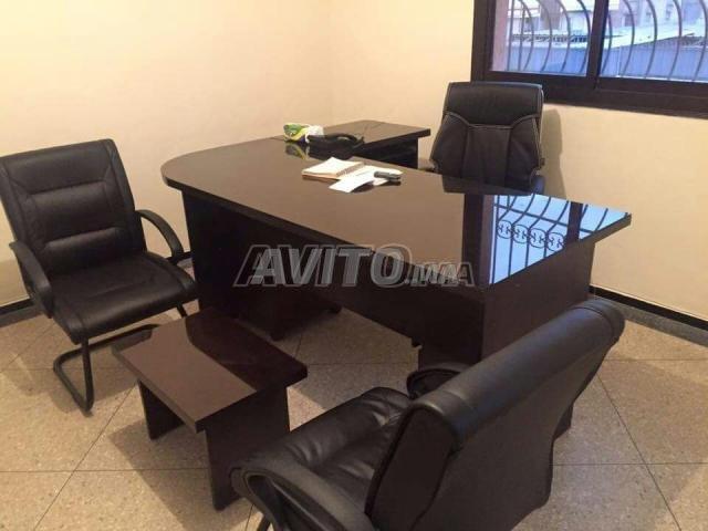 REF 01 Des bureau L et chaise new - 2