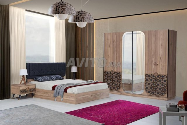 Chambre a Coucher Luxe Turk - 5