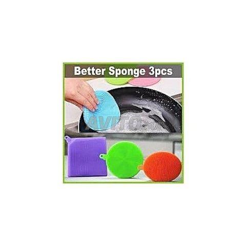 AZ0017 - Better Sponge Kit 3 éponges abrasif - 2