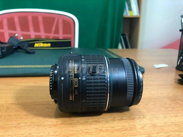 Nikon D3200 avec Objectif AF-S DX 18-55 mm Noir - 5