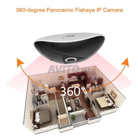 Caméra IP intelligente 360 degrés 3MP - 1