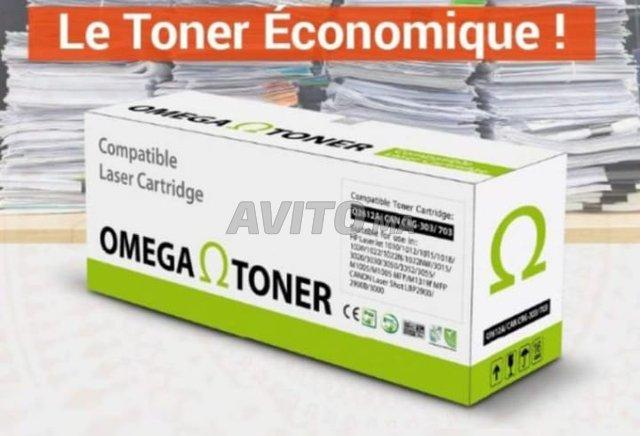 HP 05A /CE505A TONER COMPATIBLE HP /OMEGA NOIR - 1